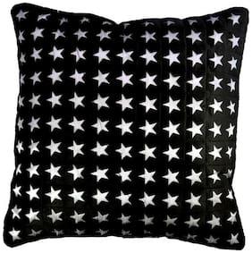 Belive-Me Velvet Black Cushion Cover