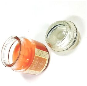 Dollar store Bell Jar Glass Candle With Lid - Exotic Mango Fragrance