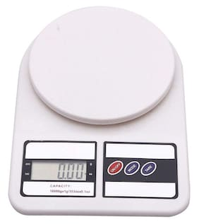 Benison India Multipurpose Digital Electronic Weight Machine with Green Backlight