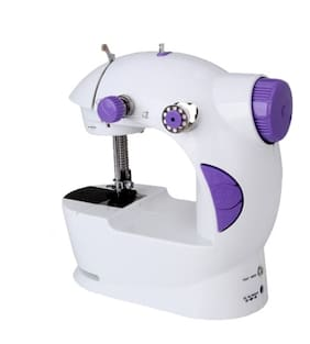 Benison India Electric Mini Sewing Machine For Home Hand Machine To Sew Lock Stitch Adjustment with Light Handheld Portable Sewing Machine