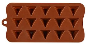 Benison India Round Shape Chocolate/Jelly/Ice Moulds of High Quality Silicone(Pack of 1)
