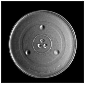 Benison india Microwave Oven Replacement Turntable/Rotating/Baking Glass Tray/Plate 12.5 Inch