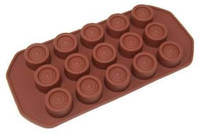 Benison India Silicone Brown Baking & icing tools ( Set of 3 )