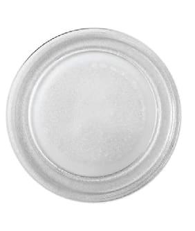 Benison India Heatproof Glass Microwave Turnable Plate