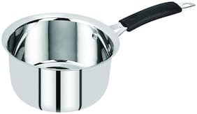 BERGNER 0.9 L Without Lid Sauce Pan Induction Bottom ( Stainless Steel , Set of 1 )