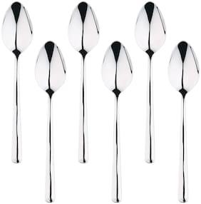 Bergner Maya 6 Pcs Stainless Steel Table Spoon Set