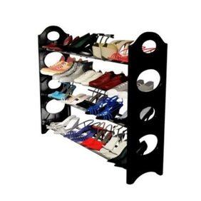 Best Carbon steel & Poly-propylene multi shoe rack