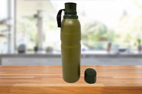 Bewitching 750 ml Stainless steel Green Vaccum flask - 1 pc