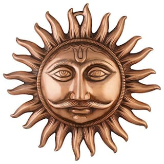 Buy Bg Bazzar Galisurya Sun Golden Wall Hanging Key Chain Surya Dev Yantra For Protection From Vastu Dosh Shani Dosh And Accident Prevention 1pc Online At Low Prices In India Paytmmall Com
