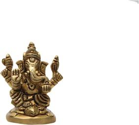 Bharat Haat Ganesha Brass Handicraft art