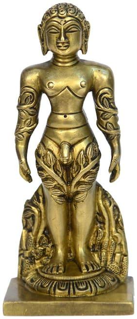 Brass Metal Lord Jain God bahubali (Digamber Jain God) by Bharat Haat BH00671