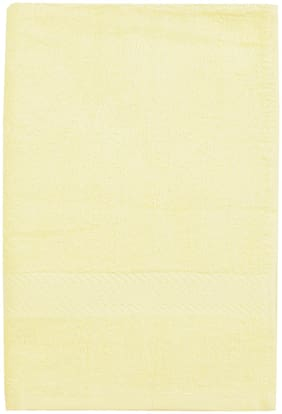 BIANCA Cotton Egyption Hand Towel Egyptian Yellow Medium (Set of 2)