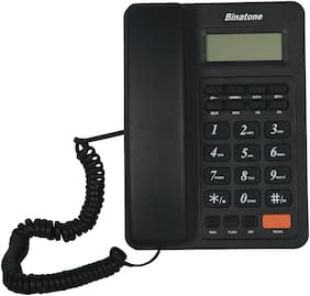 Binatone Spirit 221 No Sim 1 Line Corded Landline Phone ( Black )