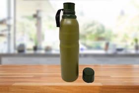BINCY 750 ml Stainless steel Green Vaccum flask - 1 pc