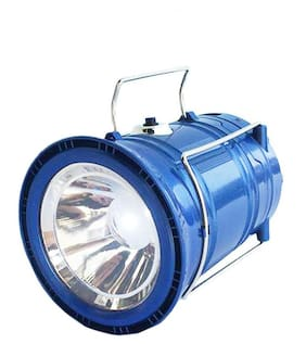 Bincy LED Solar Emergency Light Lantern;USB Mobile Charging;Torch Point;2 Power Source Solar;Travel Camping Lantern