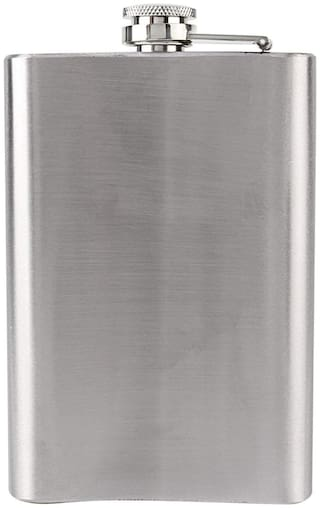 Bincy Stainless Steel Hip Flask or Wine Holder (07 Oz)