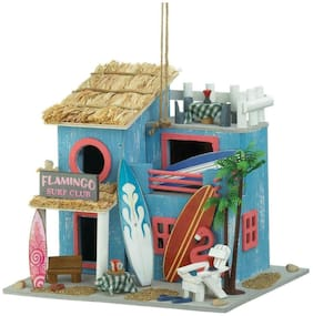 bird house garden decor feeder flamingo beach decor