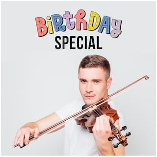 Birthday Special Violinist on Video Call 25 30 Mins