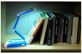 BJE Plastic Plain Blue Lamp ( 1pc )