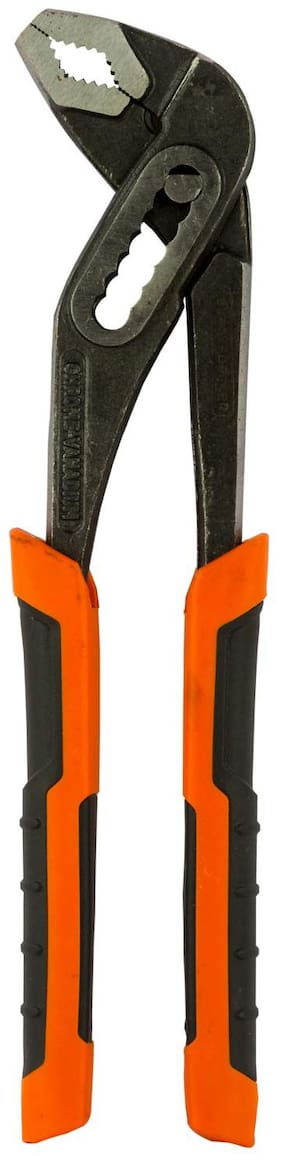 Black + Decker Steel 250mm Waterpump Pliers (Orange)