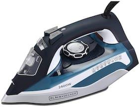Black+Decker BXIR2401IN Steam Iron (Blue)