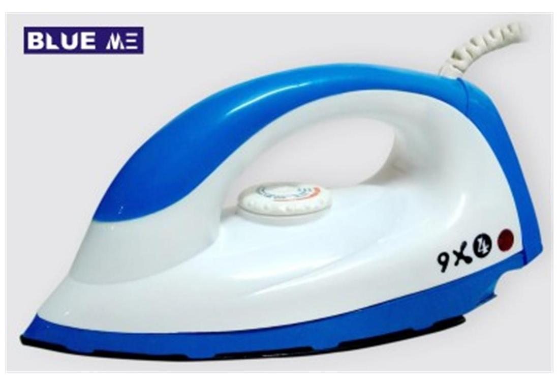 Blue Me 9x4 750 W Dry Iron (Assorted)