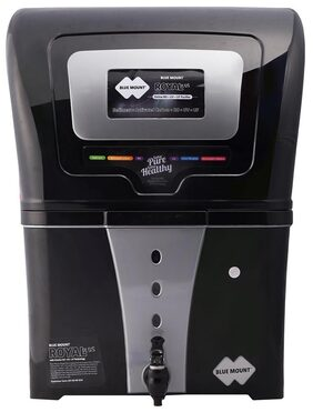 Blue Mount Royal Plus BA58 12 L RO+UV+UF Water Purifier (Black)