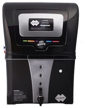 Blue Mount Royal BA57 12 L RO+UF Water Purifier (Black)
