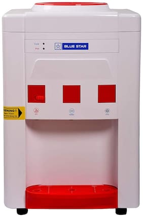 Blue Star BWD3TTGA Table Top Water Dispenser -R Series (White & Red)
