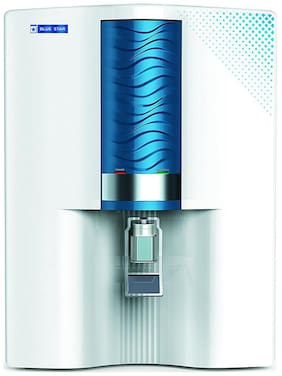 Blue Star Majesto MA4WBAM01 8 L RO+UV Water Purifier (White & Blue)