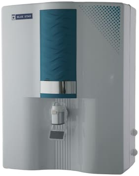 Blue Star Majesto MA4WBAM01 8-Litre RO + UV Water Purifier,White and Blue