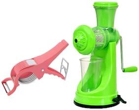 Bluz On Plastic Pink Manual juicer Set of 2