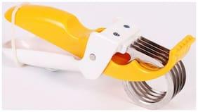 Bluzon New Expert Yellow Veg & Fruits Cutter Chopper (Yellow)