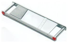 Bluzon Stainless Steel 2 in 1 Vegetable Slicer (for Chips and Salad)