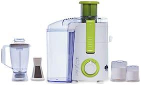 BMS Lifestyle BMS-651 450 W Juicer Mixer Grinder ( Green , 3 Jars )