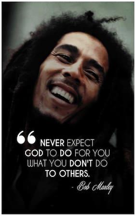 Bob Marley Inspirational Quotes Poster