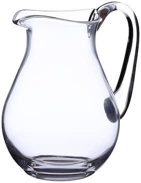 Bohemia Crystal Jug Glass set, Non Lead Crystal Jug (1500 ml) set of 1 pcs