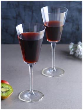 Bohemia Crystal wine Glass set, Non Lead Crystal Jive 240ml set of  6 Pcs