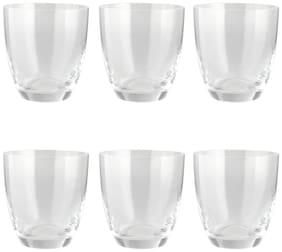 Bohemia Crystal Kate Whiskey Glass Set, 300Ml, Set Of 6, Transparent
