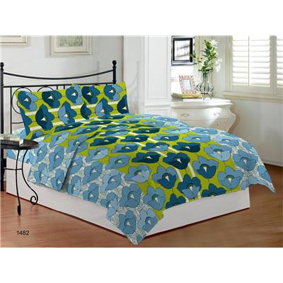 Bombay Dyeing Camelia Cotton Double Bed Sheet With 2 Pillow Covers