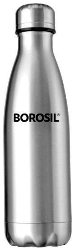 Borosil Thermosteel Flask Set of 1 ( Silver , Stainless Steel ,  350 ml )