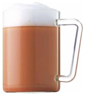 Borosil Classic Grande Beer Mug Set Of 6 (1.5L Each)