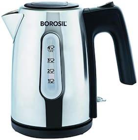 Borosil Daisy (BKE10LSSB12) 1 L Electric Kettle (Black)