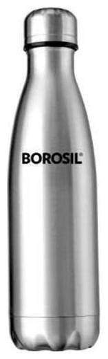 Borosil Hydra Bolt Stainless Steel Vacuum Insulated. 1000 ml Flask  Pack Of 1;Steel/Chrome