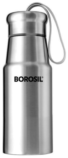 Borosil Stainless Steel Hydra Elano - Vacuum Insulated Flask Water Bottle;350 Ml