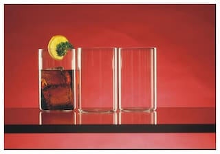 Borosil Vision Glasses - Medium (Set of 6)
