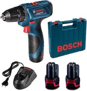 Bosch GSR120-Li Cordless Drill Driver Double Battery