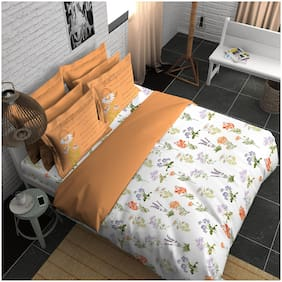 Boutique Living India Trendsetter;Palatial Dreams 300 Thread Count King Printed Bedsheet Set