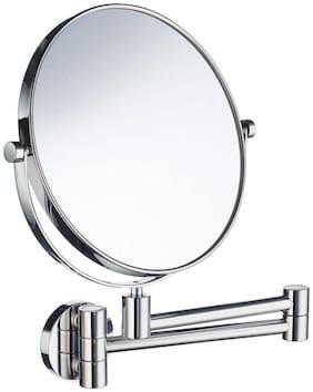 Branco Magnifying Shaving Mirror Makeup Mirror Wall Mount Foldable - Chrome