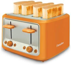 brayden FURO T40 4 Slices Pop-up Toaster ( Orange )